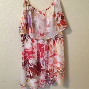 Johnny Martin Floral Strapy Summer Mini Dress